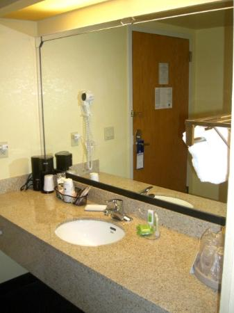 BEST WESTERN Fort Myers Inn & Suites: Vanity outside the bathroom