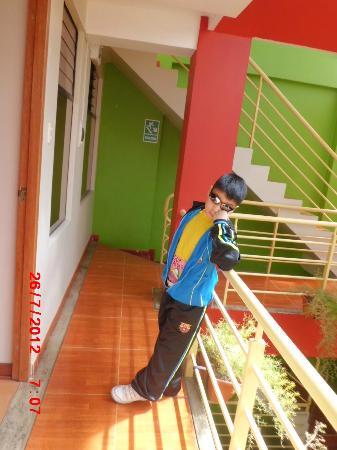 El Mariscal Cusco: En el Balcon del hotel
