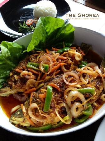 Ikan Siakap Sweet and Sour styled