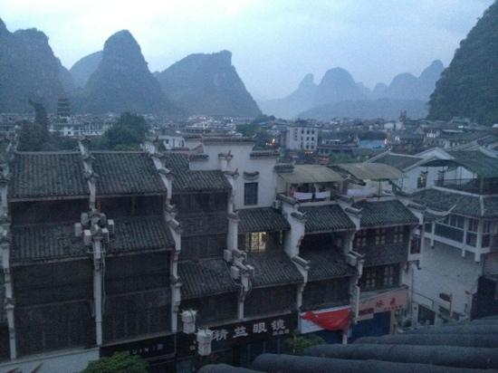 New Li River Hotel (Pantao Road): my wonderful view from my room