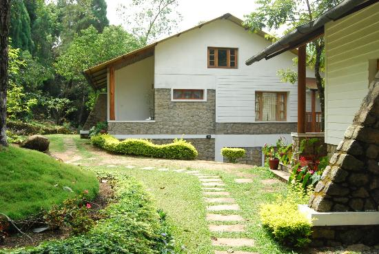 Pothamedu, India: cottage exterior