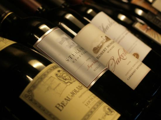 Bistro 197: Great Wine Selections