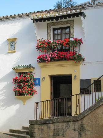 Colourful front of Hotel Ronda