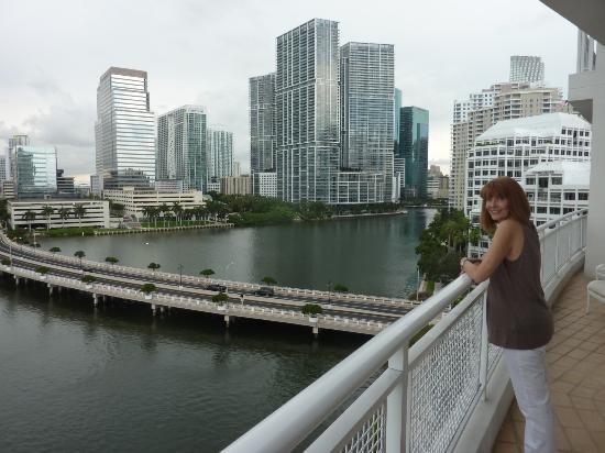 Mandarin Oriental, Miami: view from balcony