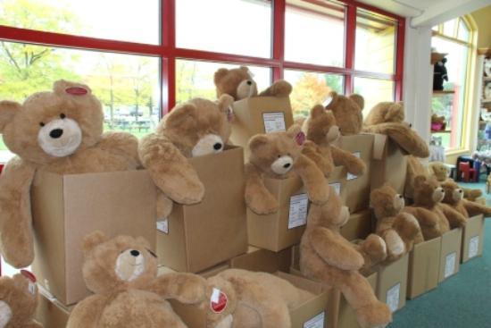 Awesome Vermont Teddy Bear Company: Giant Size Teddy Bear $99.99