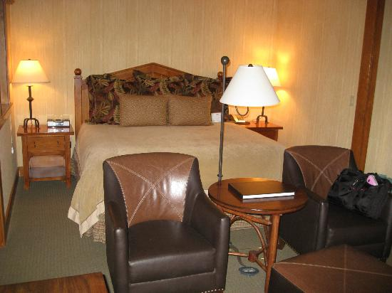 Sunriver Resort: Bed was very comfortable with warm covers
