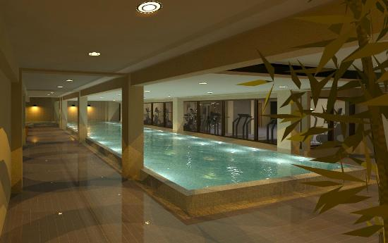 Wyndham Garden San Jose Escazu: 65 ft indoor heated lap pool