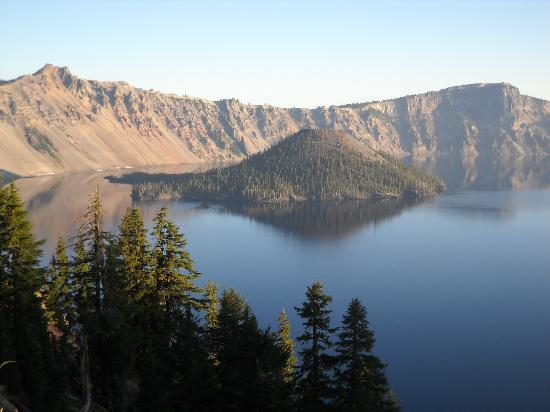 Crater Lake Lodge: Picture of lake