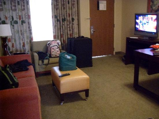 Embassy Suites by Hilton Secaucus - Meadowlands: Our lounge room