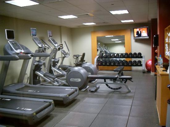 Embassy Suites by Hilton Secaucus - Meadowlands: The gym