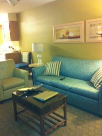 WorldMark San Diego - Mission Valley: Another view of the living room