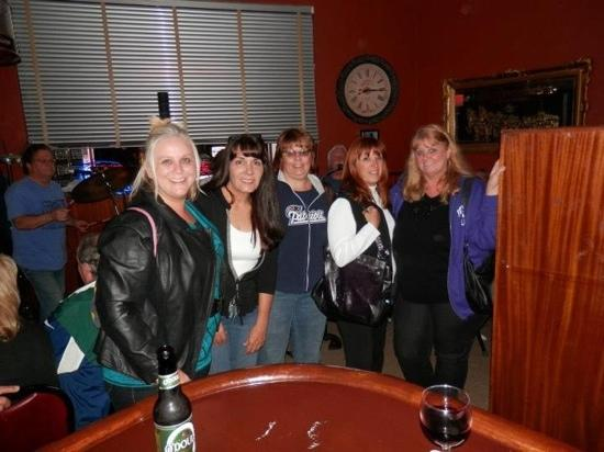 East Side Cafe: Girls Night Out and local owner Ann!
