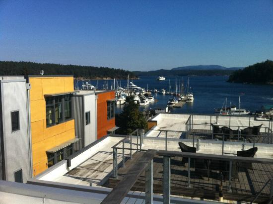 The Island Inn at 123 West: View from deck of Penthouse 6