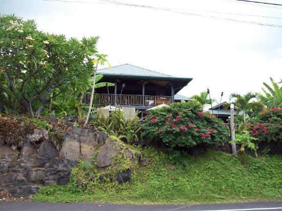 Kona Sugar Shack from the road