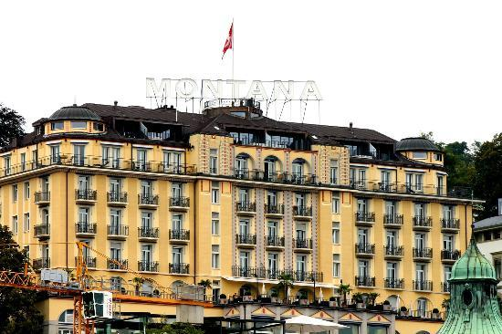 Art Deco Hotel Montana Luzern: Hotel Montana