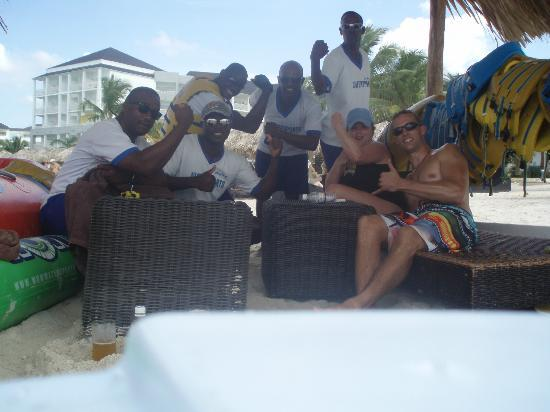 Secrets St. James Montego Bay: the most amazing group ever, captain watersports