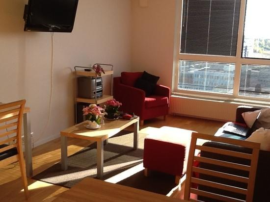 StayAt Serviced Apartments Kista: The living room