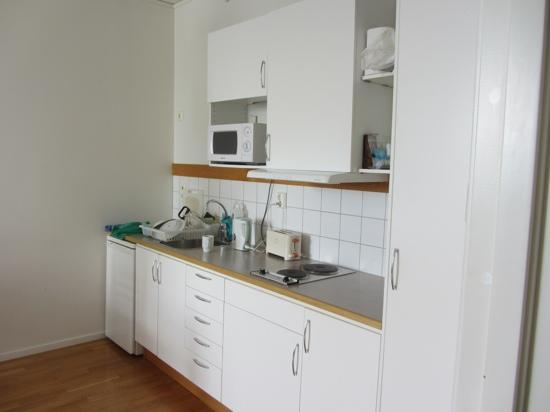 StayAt Stockholm Kista: kitchen in a one bedroomed apartment
