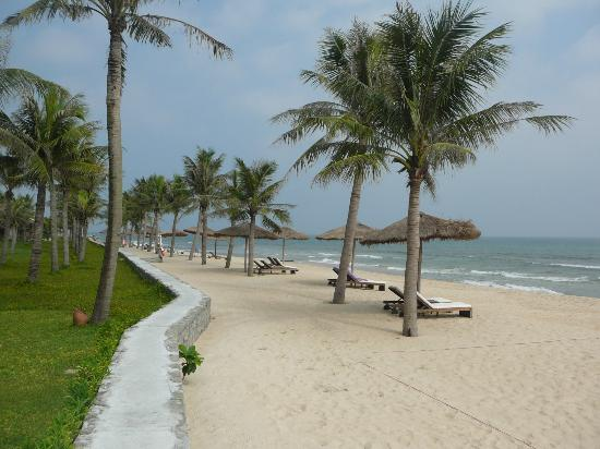 the beach at Ana Mandara Hue