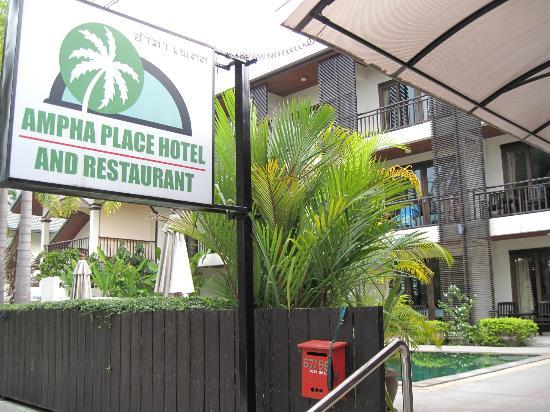 Ampha place hotel : Hotel Ampha Place