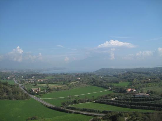 Fondazione Ugo Da Como: Panorama dalle mure della Rocca