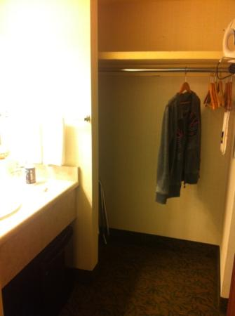 Best Western Seven Seas: closet