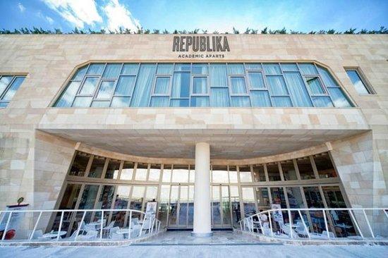 Republika Academic Aparts: Enterance