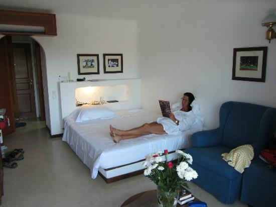 ‪‪Elounda Bay Palace‬: Room 17, still a small room 28 sqm