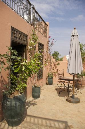 Riad Kasbah: Terrace