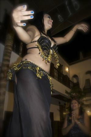 Belly Dancer/Banquet Dinner at Riad Kasbah