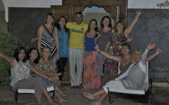 Riad Kasbah: Group photo