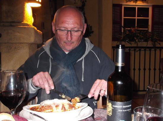 Rosa's Italian Restaurant: Lekkere home-made Lasagna