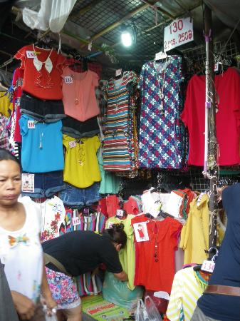 Tango Vibrant Living Place: Fashion stall around Big C