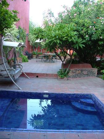 Hotel San Borja B&B: Piscine & Jardins