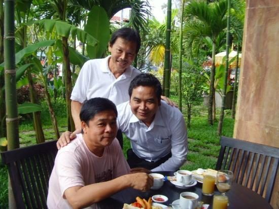 Gloria Angkor Hotel: Mr Kim (GM)
