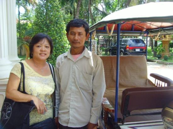 Gloria Angkor Hotel: Excellence -Tuk tuk servis