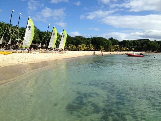 Club Med La Plantation d'Albion: Activities at the boat house 
