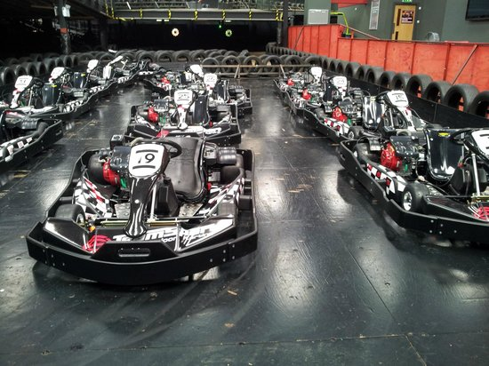 TeamSport Indoor Go Karting Crawley
