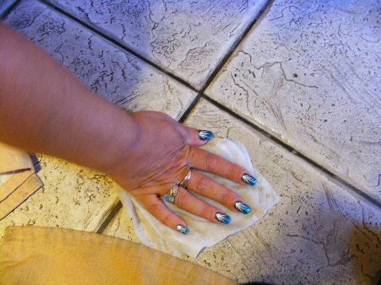 L'Ambiance Resort Bodrum: washing floor