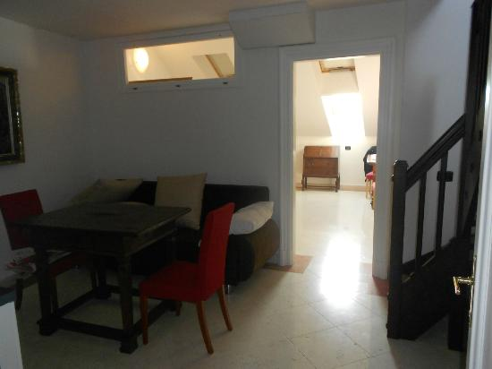 divano in cucina - Picture of Hotel Leon D\'Oro, Prague - TripAdvisor