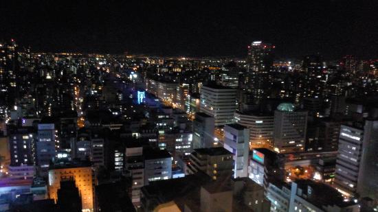 Hotel Nikko Osaka: 大阪の夜景