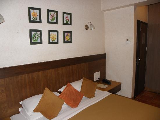 Chandralok Hotel: bed