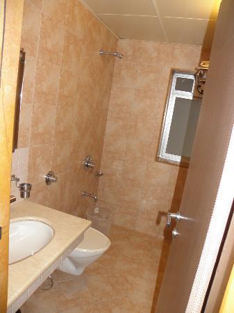 Chandralok Hotel: bath
