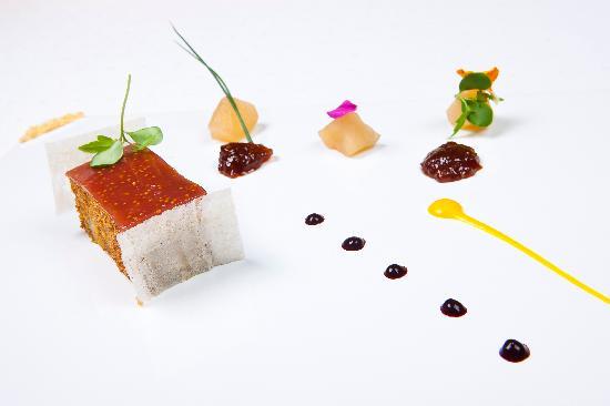 Le Grillon: Foie d'oie mi-cuit, figues en compotée