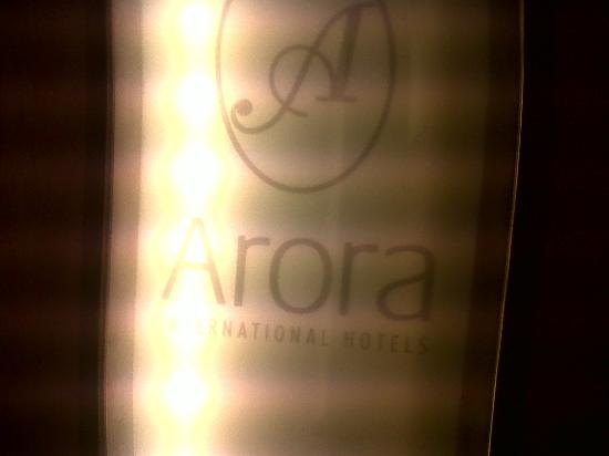 Arora Hotel Manchester: Inside the lift