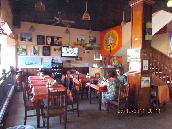 Angkor Voyage Villa: Jeanie's Cafe