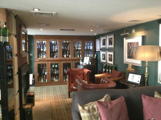 هوتل دو فين آند بيسترو أدنبره: Whisky snug 