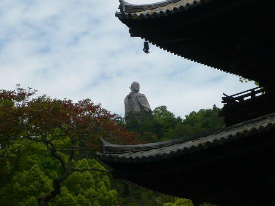 Matsuyama, Japón: 弘法大師像