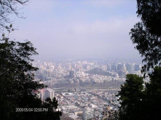 Cerro San Cristobal: vistas desde el cerro