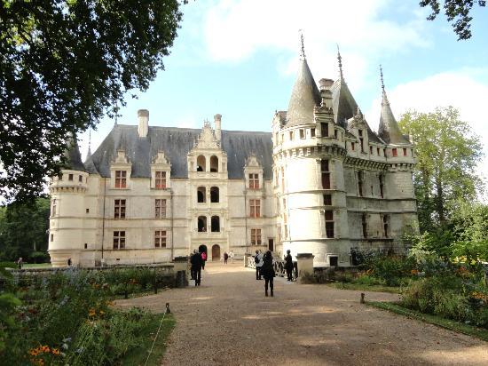 Chateau of Azay-le-Rideau: Une vue.